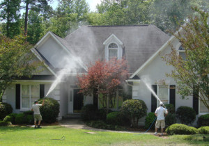 residential power washing in Pearland TX