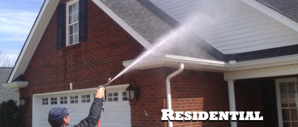 professional house washing services